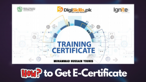 how to download e certificate from digiskills